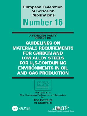 cover image of Guidelines on Materials Requirements for Carbon and Low Alloy Steels